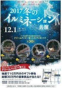 2017冬のイルミネーション共演