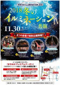 2018冬のイルミネーション 共演