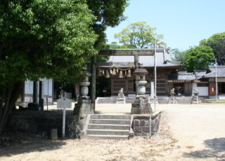岩滑八幡社