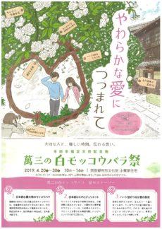 【公開延長!!】萬三の白モッコウバラ祭